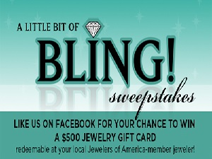 bling sweepstakes
